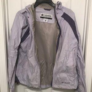 Columbia Rain Jacket Size Large